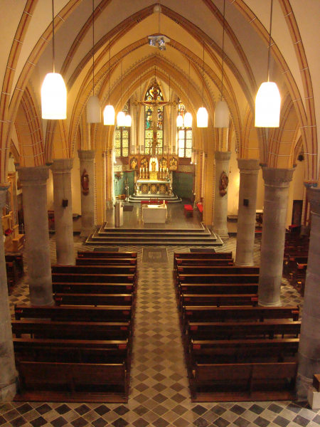 Interieur Martinuskerk