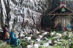 kerststal Berg